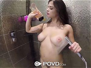 POVD After bathroom smash and facial with Keisha Grey