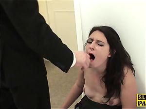 british victim superslut Sophie Garcia railing male domination