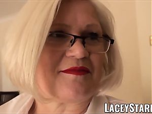 LACEYSTARR - servant GILF culo stuffed by Pascal white