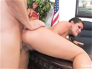Charley chase Gets torn up