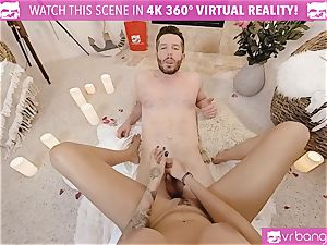 VR pornography - Thanksgiving Dinner becomes insane humping