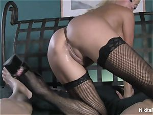 pov humping with Nikita Von James and a big dick