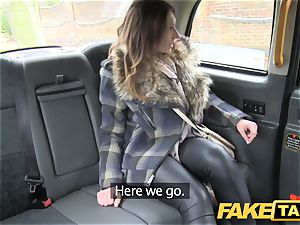 fake taxi uber-cute looking blond rims and pulverizes