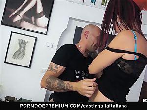 audition ALLA ITALIANA - newcummer anal gape and pound