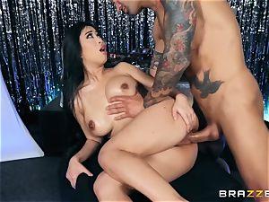 Jade Kush taking it rock hard in her pussyhole