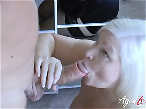 AgedLovE Lacey Starr and Paul hard-core activity