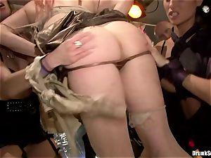 Carla Cox, Tarra milky and Nessa devil bang-out bang-out hard