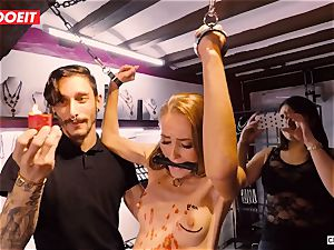LETSDOEIT - Kira Gets harsh torture at bondage & discipline soiree