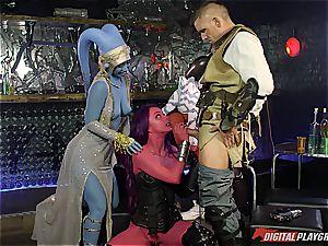 star Wars porn parody part six