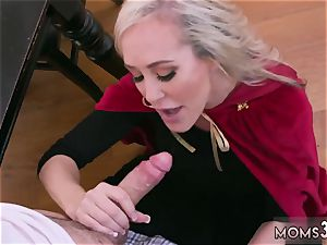 Mature mother first-ever time Halloween sensational With A 3 way
