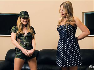 Carter Cruise and Blair Williams love each others hot vaginas