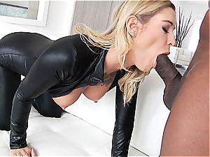 Kleio Valentien having fun with a black dick