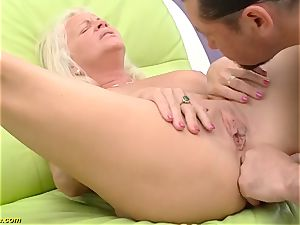 cool 73 years elder mom very first ginormous man sausage assfuck drill