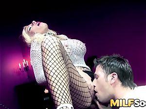 mummy Michelle Thorne gets anal boning