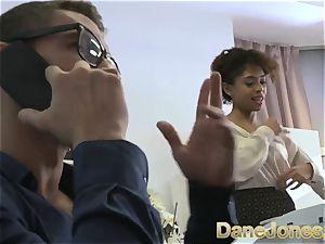 Dane Jones cool teenager ebony office girl