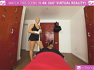 VRBangers.com super-hot babe sweat-soaked plowing Her Boxing Coach