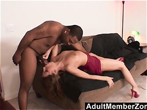 AdultMemberZone flamy redhead wants the black boy's massive chisel