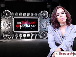 The Stripper practice - Luna star her raw taut vag