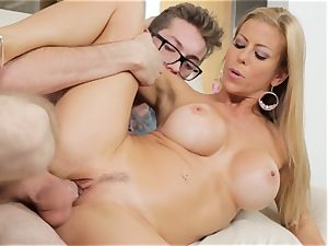 Alexis Fawx drains her daughters-in-law bf