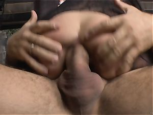 Cayenne Klein and her acquaintance penetrated by Rocco Siffredi