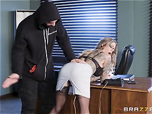 Karma Rx takes muff porked in the office