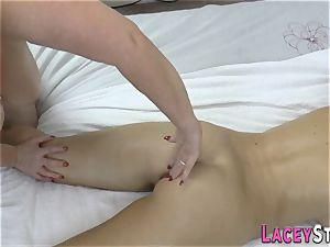 girl/girl grandmother masseur