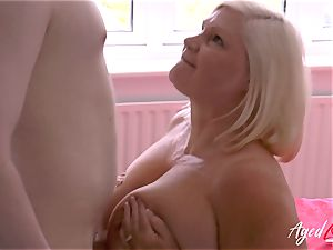 AgedLovE hardcore bang-out with Mature Lacey Starr