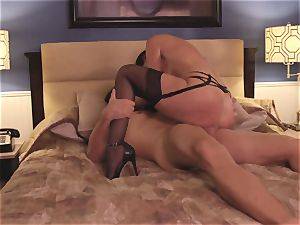 The Game part two with cougar dark haired India Summers