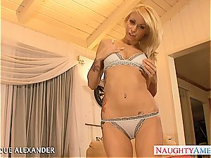 sizzling superstar Monique Alexander humping