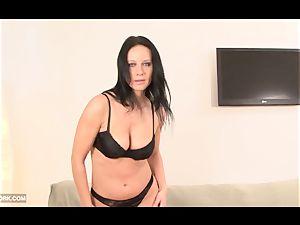 bi-atch with huge tits ebony dick in muff romped harsh