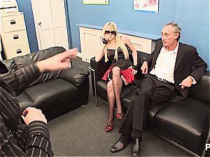 blondie honies porking at the office