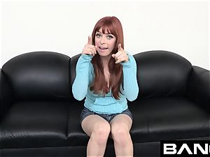 Penny Pax Takes two stiffys At Her plumb! casting
