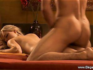 assfuck hook-up sheer pleasure from platinum-blonde milf