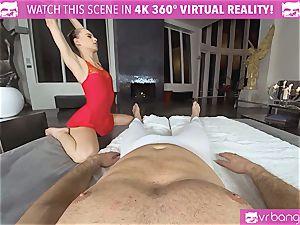VRBangers.com supple Jill Will stretch Her jummy fuckbox