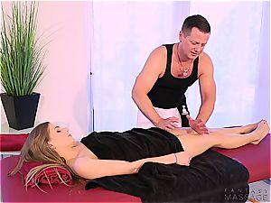 super hot sister screwed by her massagist brother