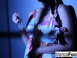 asian pornstar Marica gets nude
