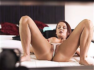 MomsTeachSex mummy and sonny make threesome lovemaking tape