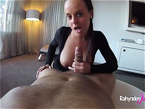 Rahyndee James swanky hotel plowing point of view