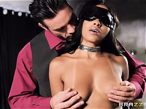 cool honey Anya Ivy pulverized nads deep on her rendezvous
