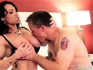 Alura Jenson and her snatch tonguing acquaintance Brandi May get into deep distress