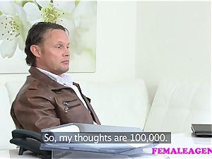 FemaleAgent muscled guys manhood enjoyments agent