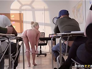Christie Stevens arched over and nailed doggy style