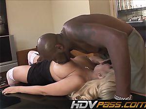 HDVPass multiracial hookup with Bridgette B.