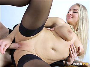 Frustrated wife Kayla Green gets Danny Ds big trouser snake