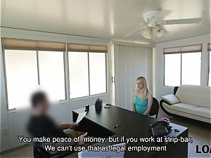 LOAN4K. Loan agent offers his help in interchange for spunky fuck-fest